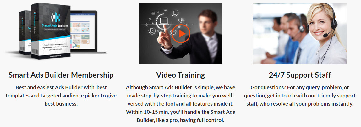 Membership, Video Training, Support